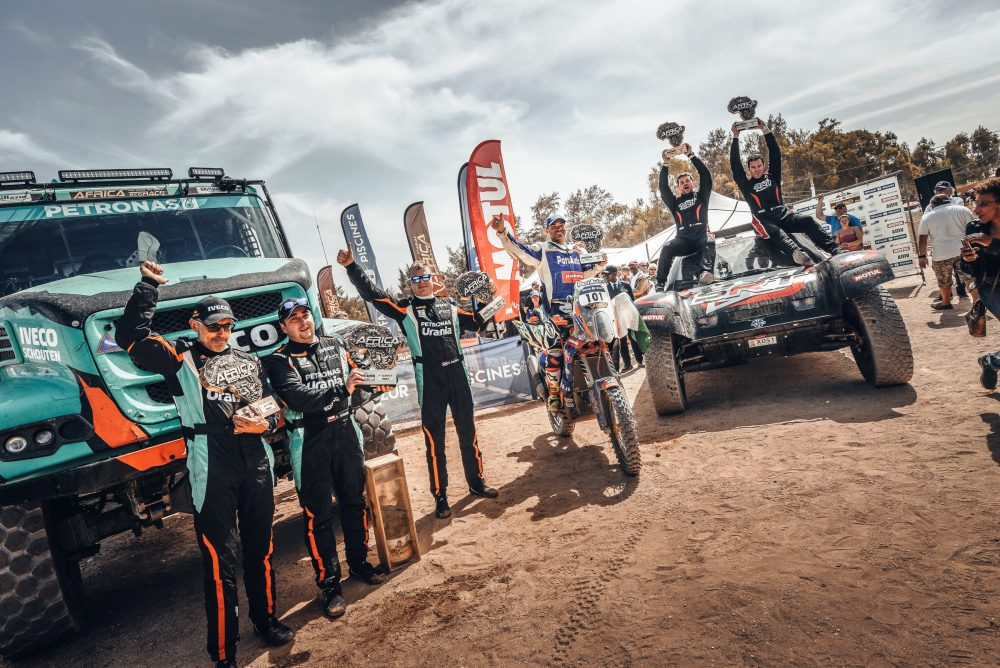 Team PETRONAS De Rooy IVECO wins Africa Eco Race 2018 ...