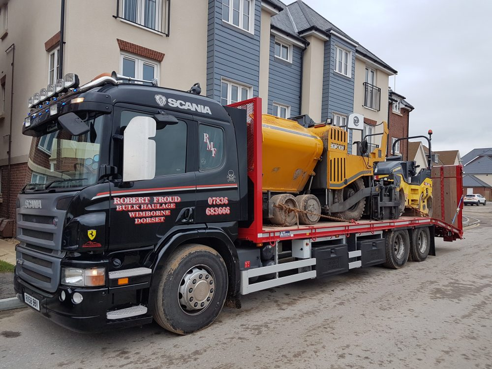ROBERT FROUD REFRESHES FLEET WITH NEW ANDOVER TRAILERS PLANT BODY ...