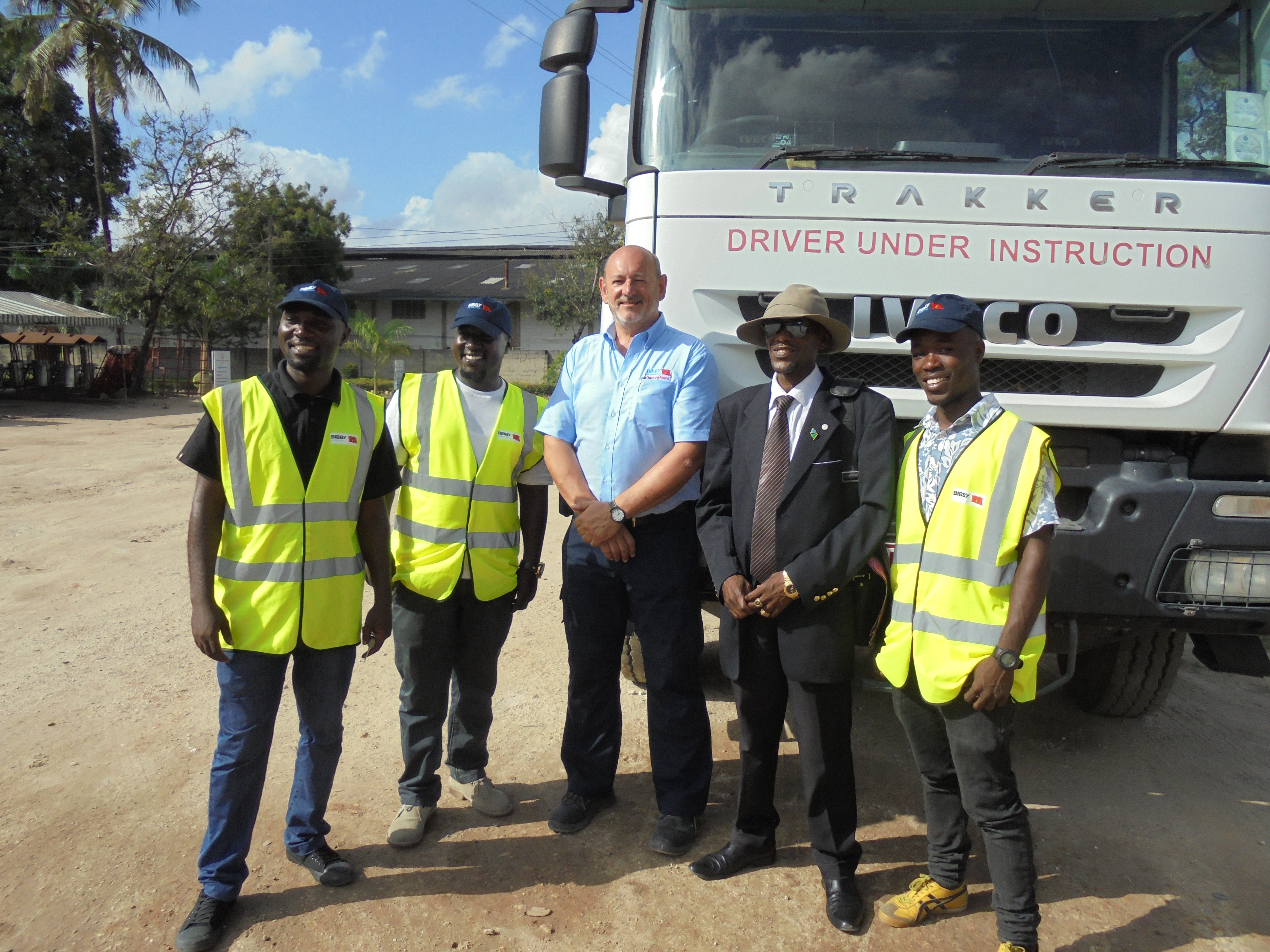 BIBBY DISTRIBUTION TRANSFORMS DRIVER TRAINING IN TANZANIA WITH