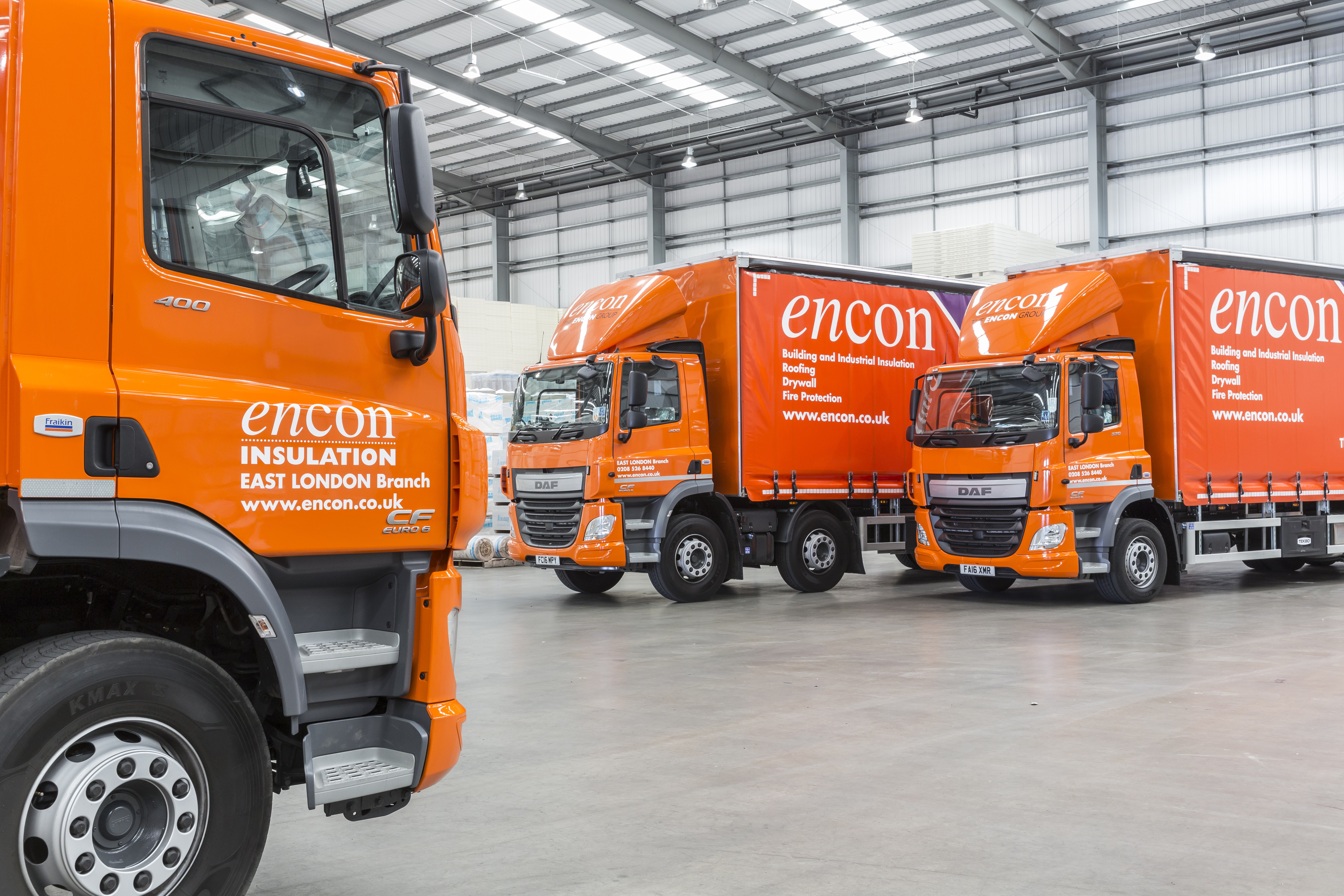 Fraikin And Encon Insulation Wrap Up Expanded Major Fleet