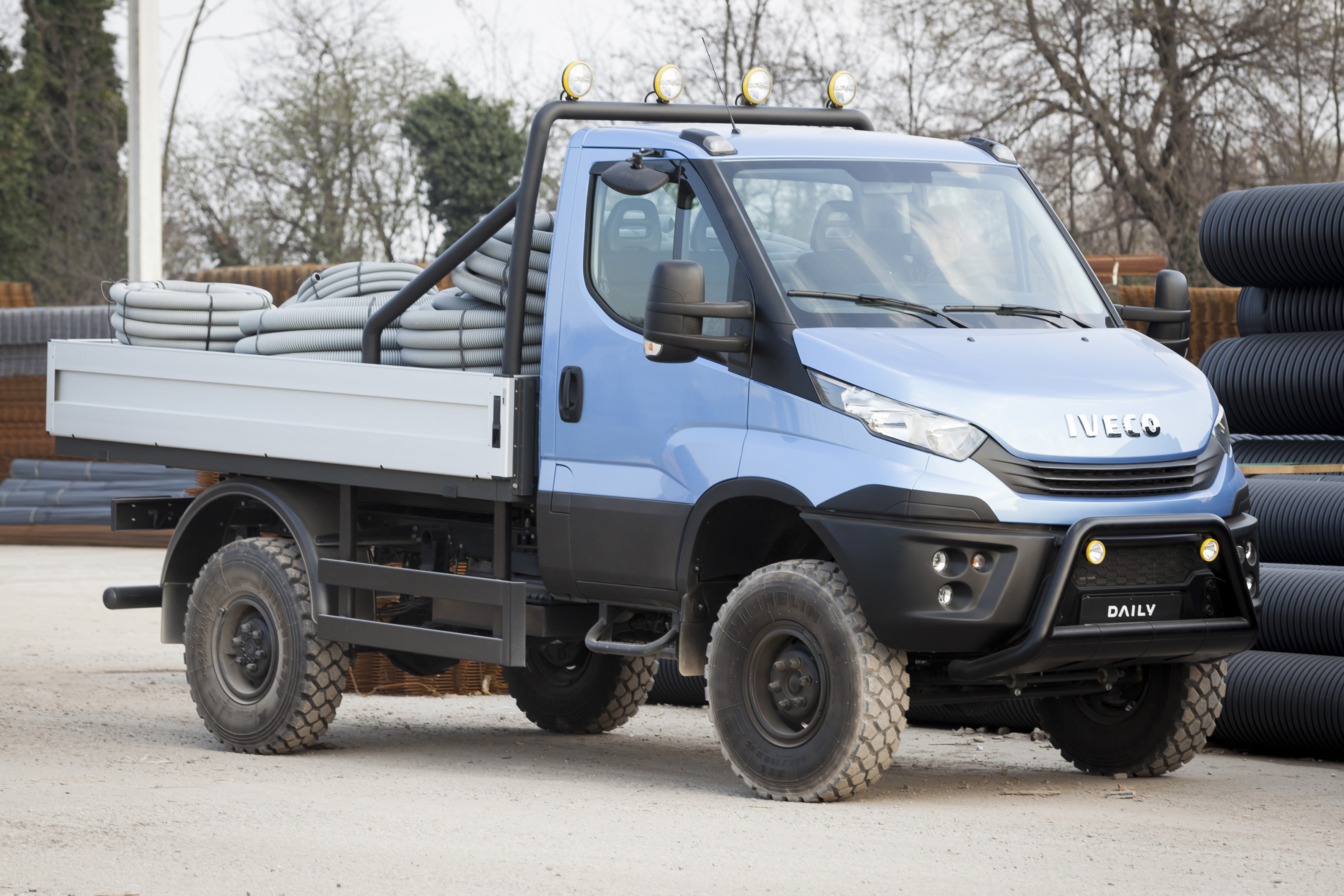 New Daily E6 4x4 leads full range Iveco line-up at Tip-Ex