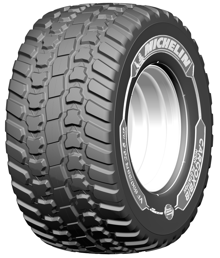 Michelin's new VF CargoXBib High Flotation trailer tyres